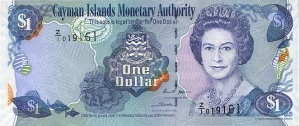 Фото: доллар Каймановых островов