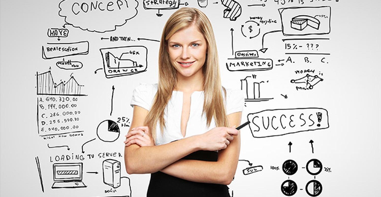 Сегодня женщине, которая хочет начать собственный бизнес, необязательно иметь большой стартовый капитал и глубокие познания