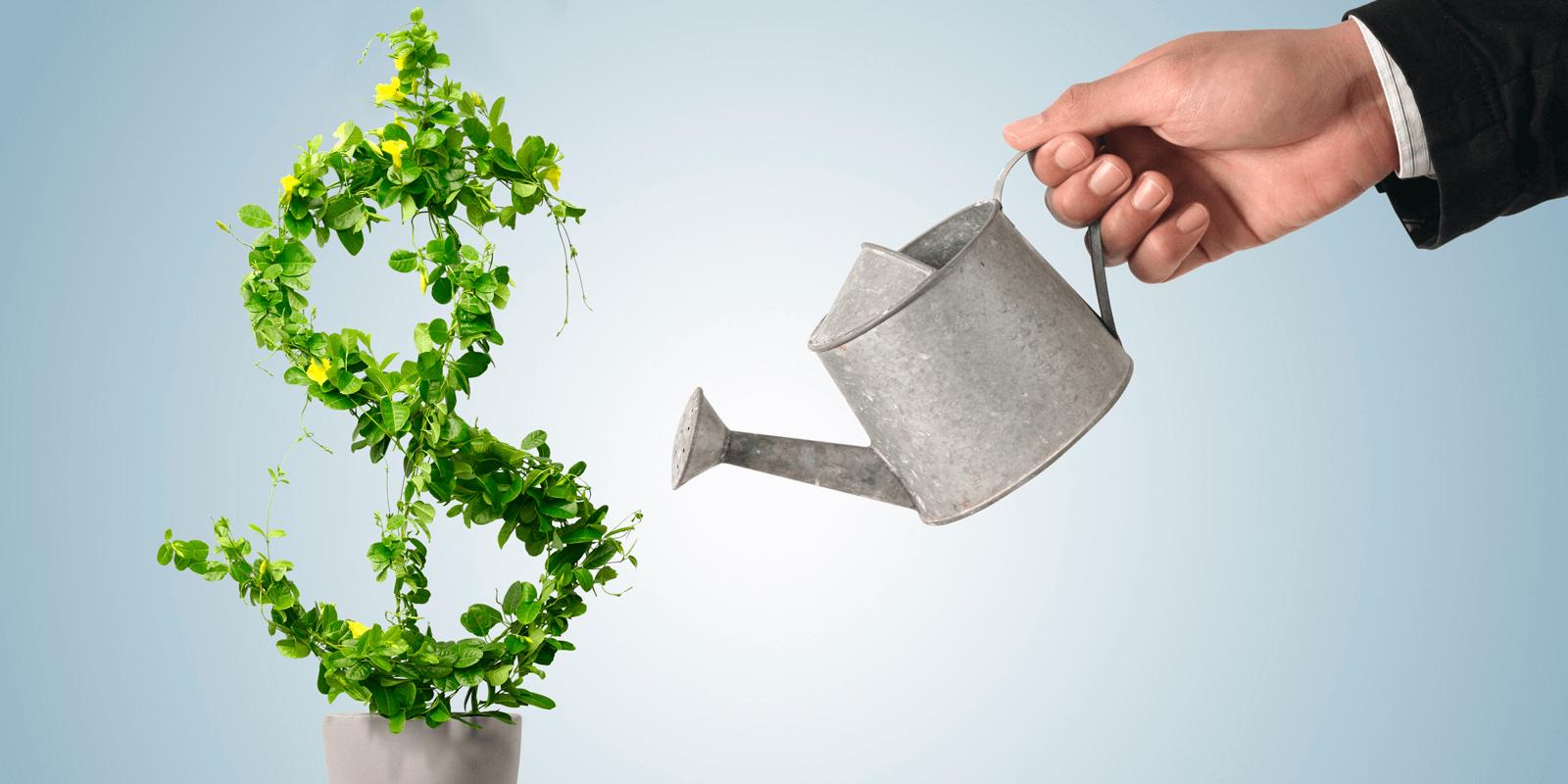 Капитализация процентов по вкладу — это регулярное увеличение размера депозита с учётом не только его тела, но и набежавших процентов