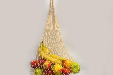авоська с фруктами