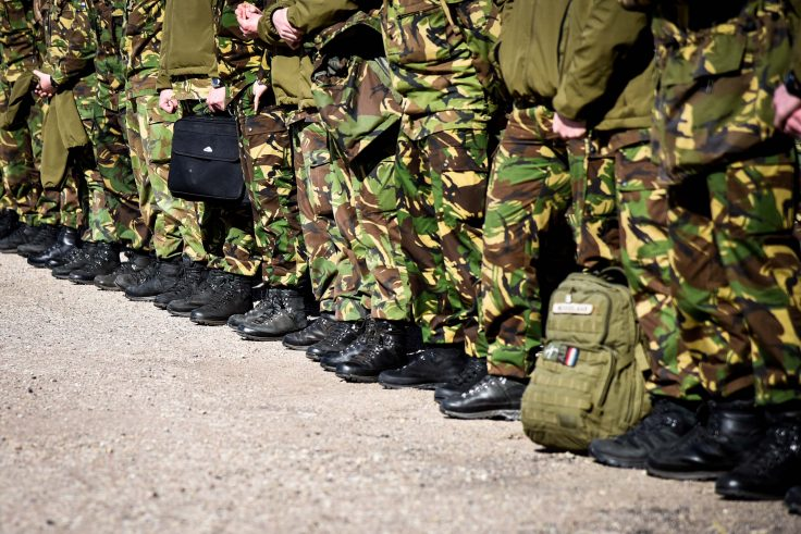 Увольнение военнослужащего